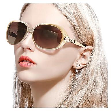 FIMILU Gafas de Sol de Gran Tamaño para Mujer, Lentes ...
