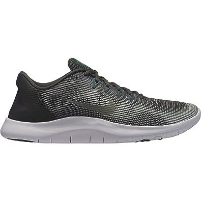 lowest price 95c91 43b9e Nike Flex 2018 RN, Sneakers Basses Homme, Multicolore (Newsprint/Dark  Stucco/
