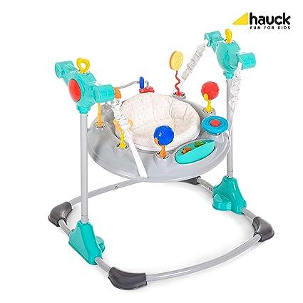 e67d867dbfb7 Hauck Jump-A-Round - Columpio y mesa de juego estable para bebes de ...