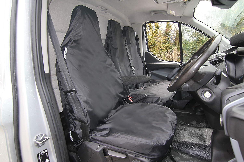 CITROEN RELAY DOUBLE VAN SEAT COVERS LEATHER DELUXE HEAVY DUTY SINGLE