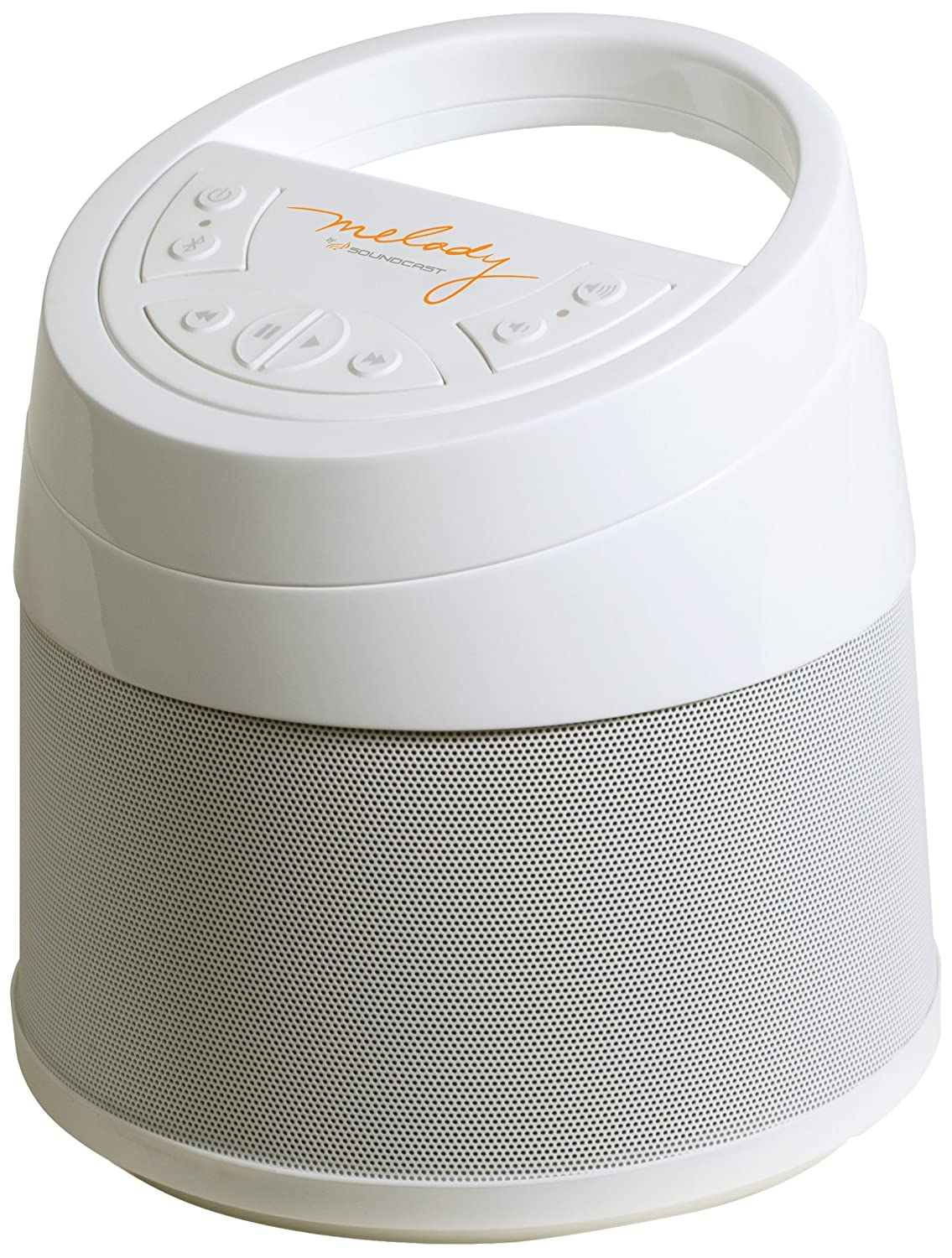 Soundcast Melody Bluetooth Wireless Speaker, White MLD414