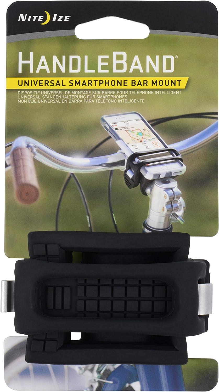 HDB-02-R3 Clear HandleBand Universal Smartphone Bicycle Bar Mount