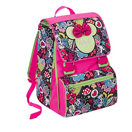 Mochila escolar extensible Minnie Pop