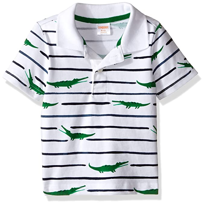c7030261c Amazon.com  Gymboree Toddler Baby Boys  Striped Polo Shirt with ...