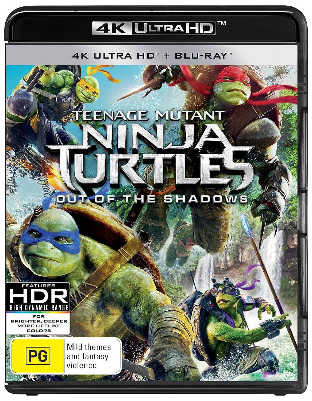 Teenage Mutant Ninja Turtles: Out Of The Shadows Uhd/Bd 4K+ ...