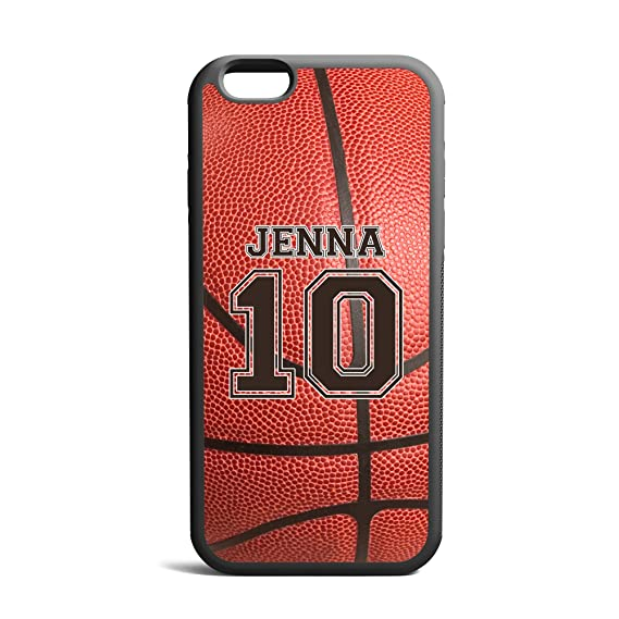 timeless design 49f6a e3701 CodeiCases iPhone 5/5s Basketball Case With Name And Number, Basketball  Custom Case, Cover Rubber Black Basketball iPhone Case