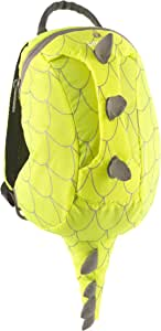 LITTLELIFE HI VIS ACTIONPAK KIDS RUCKSACK DINOSAUR (YELLOW)