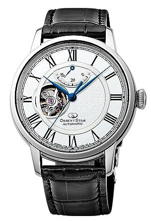 outlet store 16358 284e9 [オリエント時計] 腕時計 オリエントスター セミスケルトン 機械式 自動巻(手巻付) ホワイト RK-HH0001S