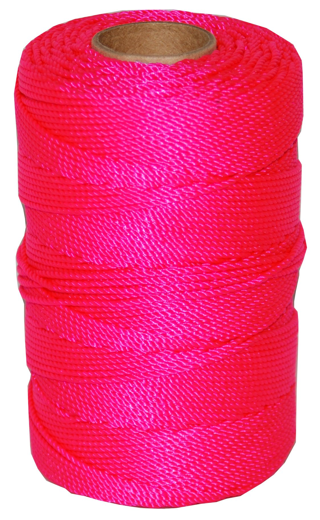 T.W . Evans Cordage 11-193 Number-18 Twisted Nylon Mason Line, 1100-Feet, Pink