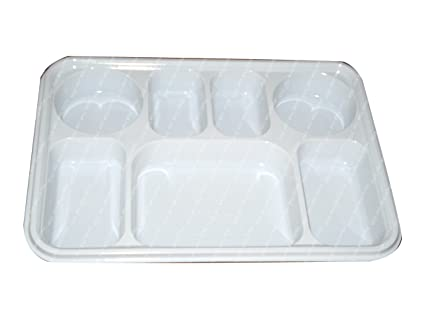 Seven Compartment Disposable Plastic Plate or Thali - 50 Plates  sc 1 st  Amazon.com & Amazon.com: Seven Compartment Disposable Plastic Plate or Thali - 50 ...