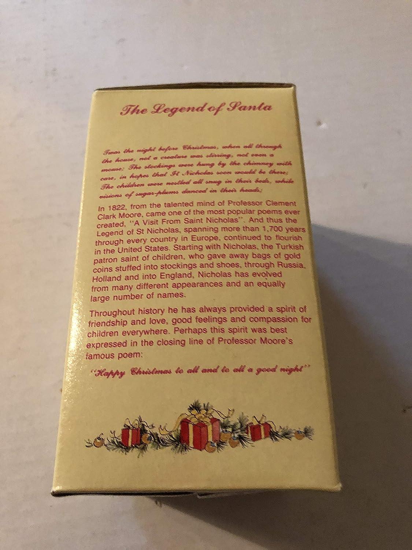 International Santa Santa Claus The United States Christmas Figurine Claus Collection SC06