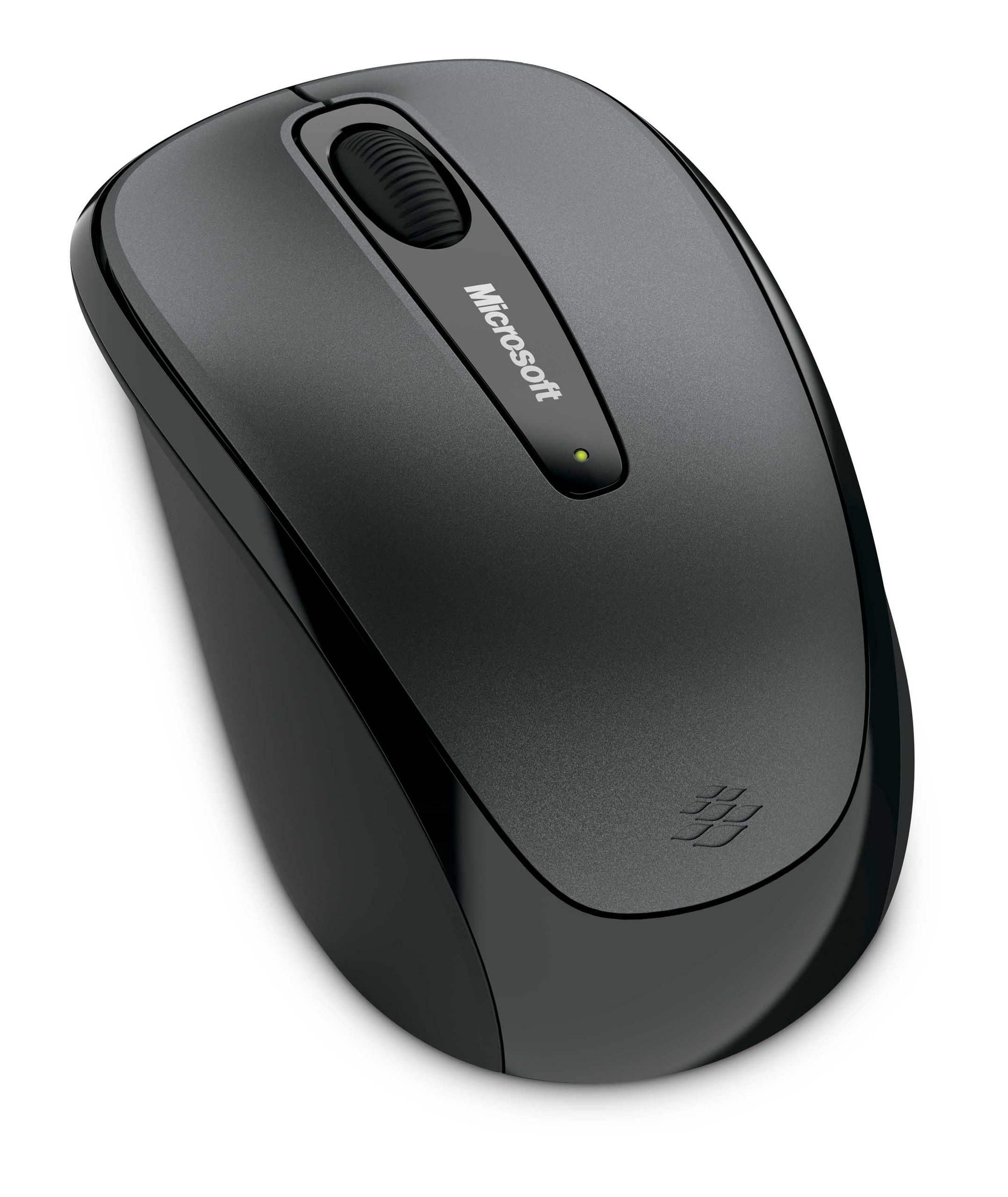 Microsoft Wireless Mobile Mouse 3500 - Loch Ness Gray (GMF-00010) by Microsoft