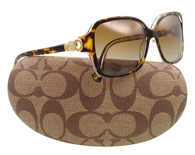 Coach - Gafas de sol HC 8009 tortuga 5049t5 Frances: Amazon ...