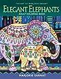 The Art of Marjorie Sarnat: Elegant Elephants Adult Coloring book