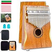 EASTROCK Kalimba 17 Keys Thumb Piano with Kalimba Case and Kalimba Music Book,Portable Mbira Finger Piano for Beginners…
