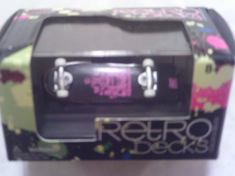 Retro Decks Vision Streetwear Collectible Finger Skateboard by Malibu International Malibu International LTD 00700
