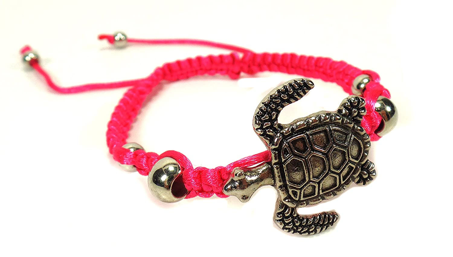 product beachn img glass grey crackled charm black turtle bold sea bracelet