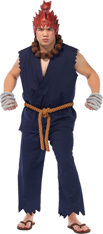 Amazon Com Leg Avenue Men S Street Fighter Akuma Costume Clothing