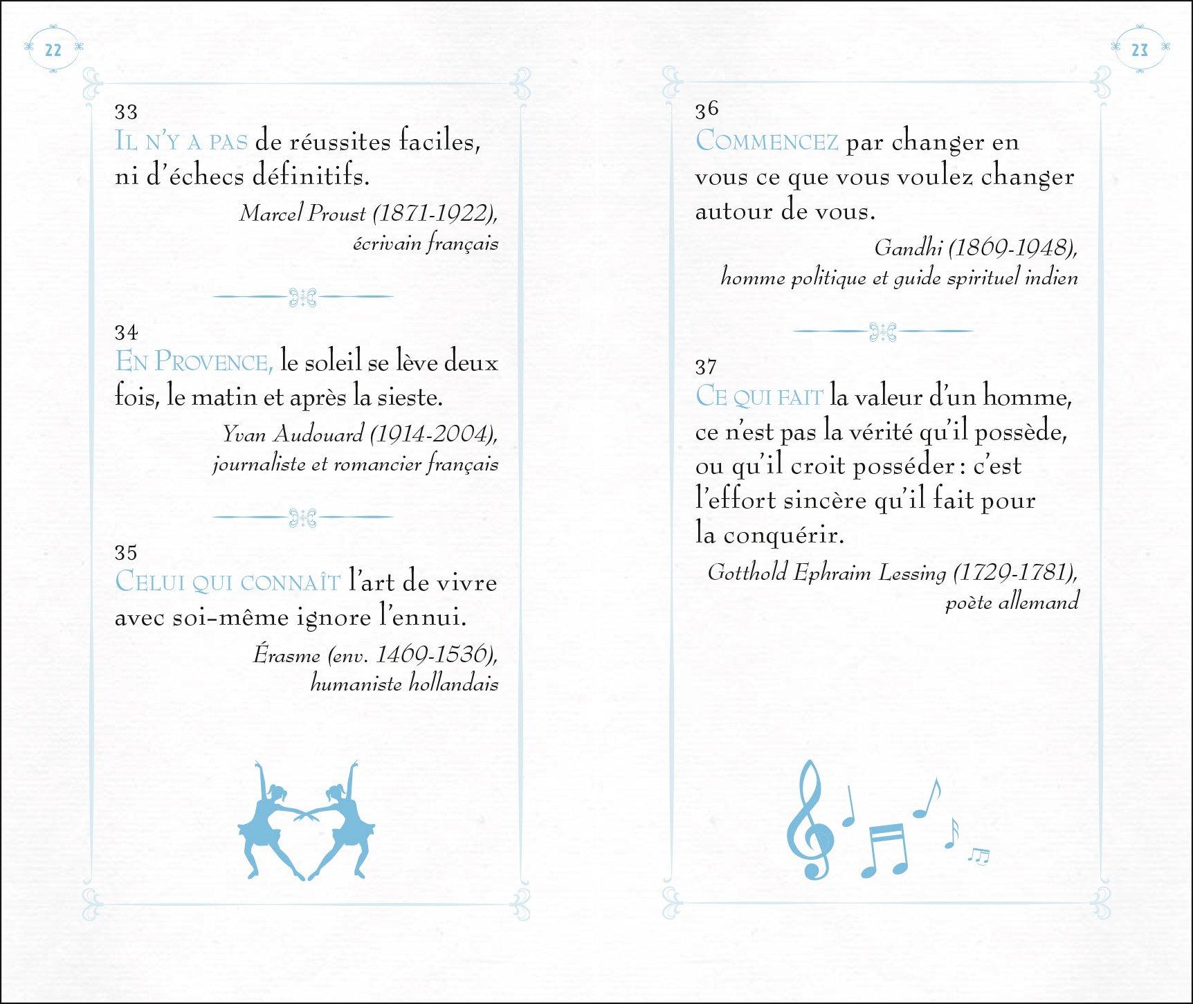 Petit Recueil De Pensées Positives 9782812309526 Amazon