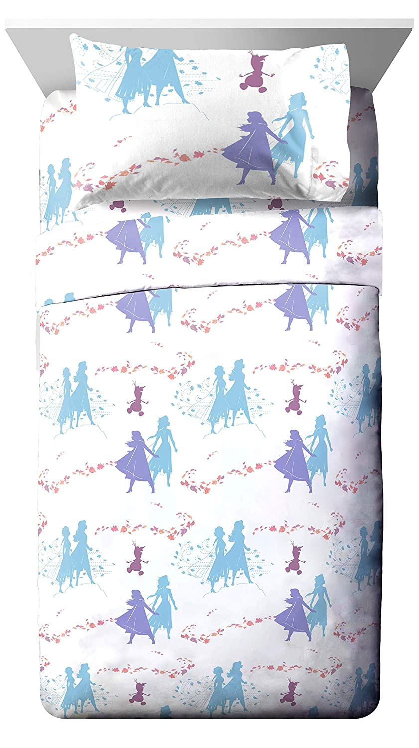 Jay Franco Disney Frozen 2 Sister Dots 3 Piece Twin Sheet Set