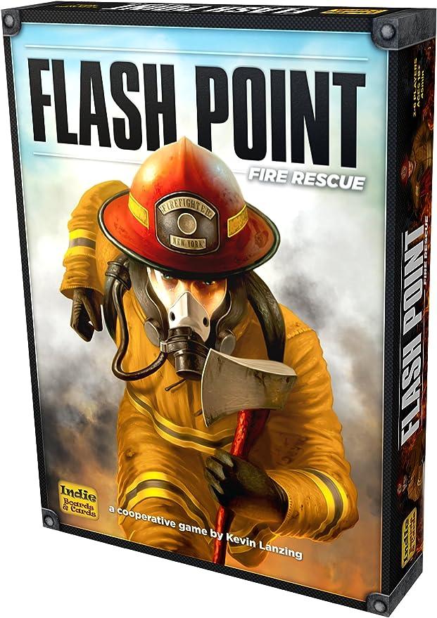Flash Point Fire Rescue 2nd Edition - Juego de Mesa (en inglés): Amazon.es: Juguetes y juegos