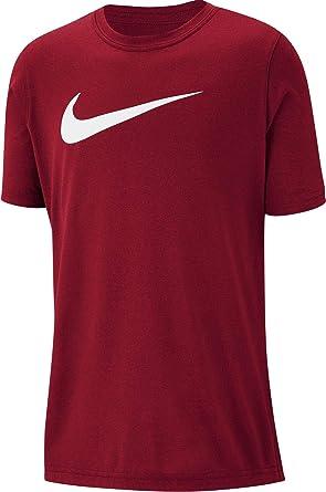 34566094e3458 Nike Boys' B Nk Dry Tee Leg Swoosh T-Shirt: Amazon.co.uk: Clothing