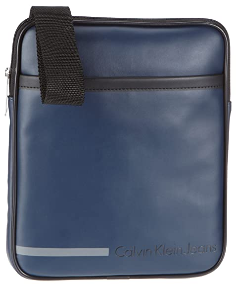 Bolso Voyager Para Hombre Color Jeans Pbo00 Cds010 Klein Calvin Y6EBXWE