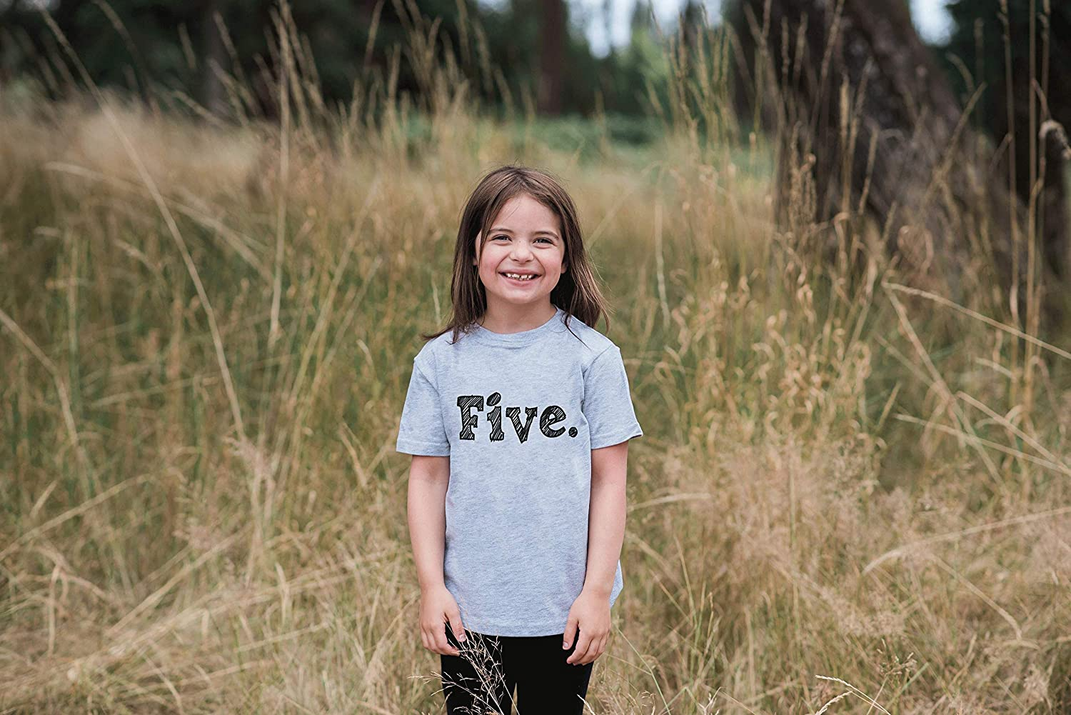 7 ate 9 Apparel Kids Five Birthday T-Shirt
