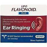 Lipo-Flavonoid Plus Dietary Supplement Ear Health, 100 Caplets (Pack of 2)