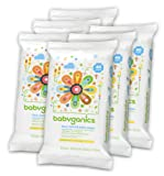 Amazon Price History for:Babyganics Face, Hand & Baby Wipes, Fragrance Free, 240 Count (Contains Six 40-Count Packs)