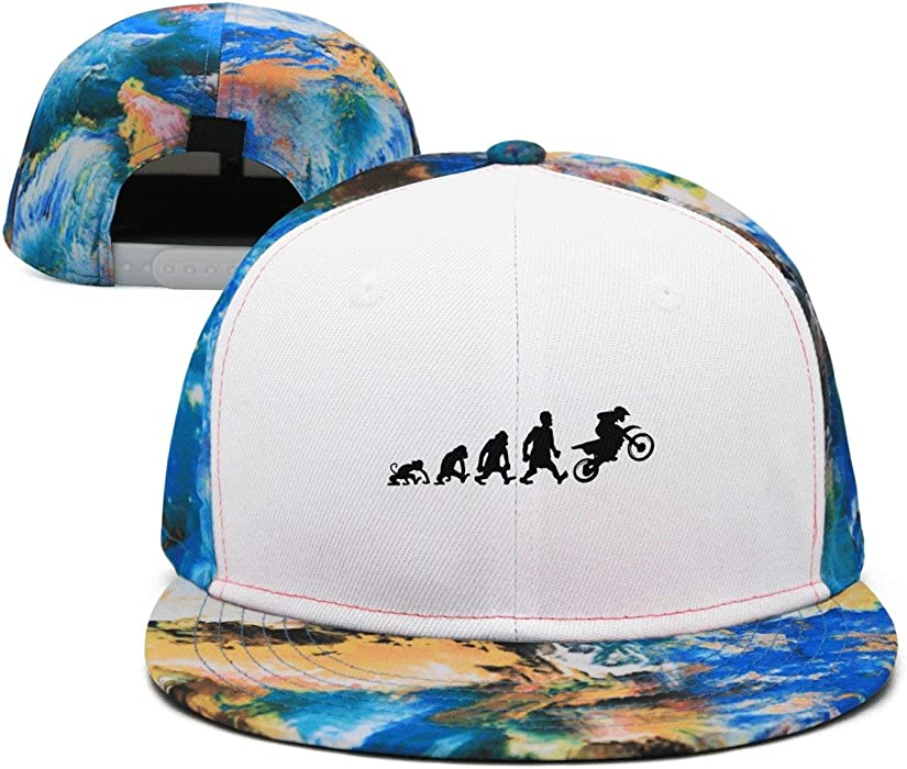 5979306eeed Custom Adult Unisex Evolution Motocross 100% Nylon Mesh Caps One Size Fits  Most Adjustable Hats at Amazon Women s Clothing store