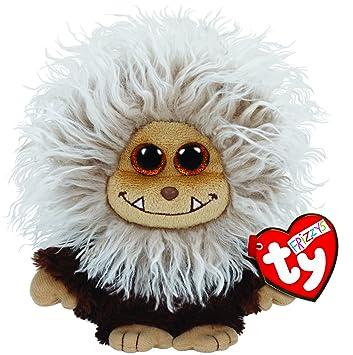 TY Zinger - juguetes de peluche (Marrón) - Peluche Frizzys Zinger Marrón 15 cm