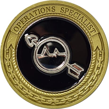 navy operations specialist challenge coin