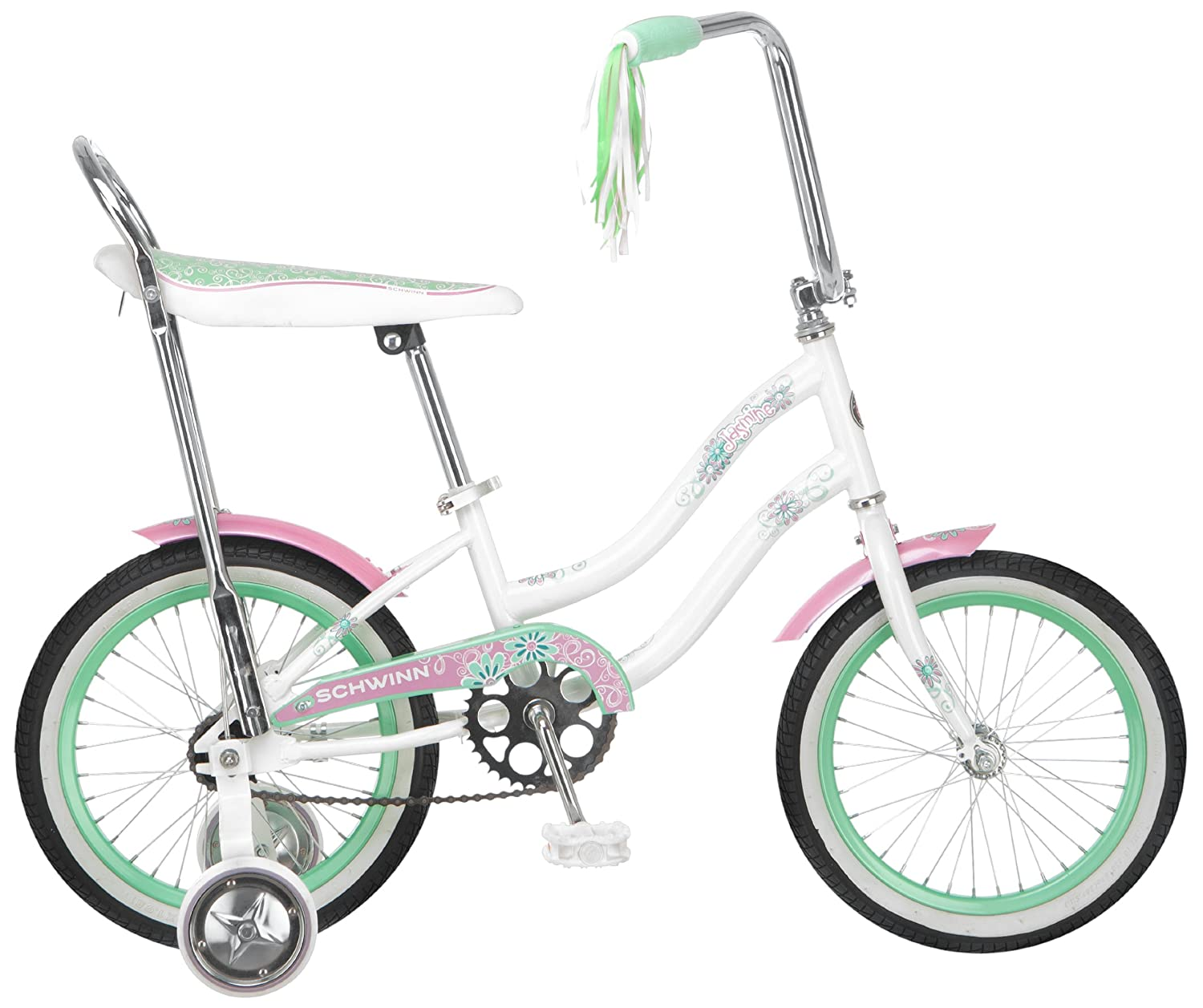 Schwinn Girl S Jasmine 16 Inch Bicycle White