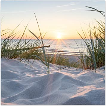 Acrylglas-Bild Wandbilder Druck 100x50 Deko Landschaften Weg zum Strand