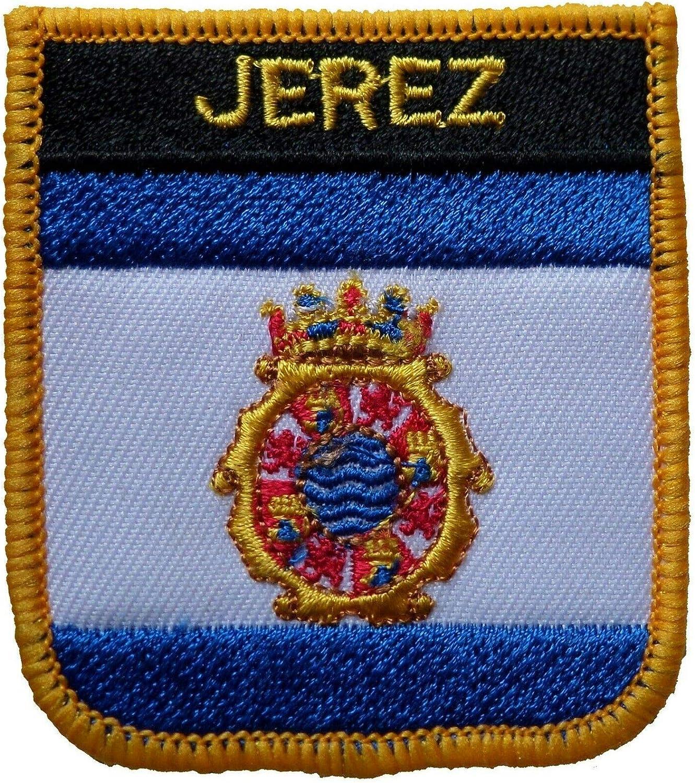 1000 banderas Jerez España escudo bordado parche insignia: Amazon.es: Hogar