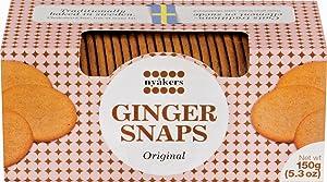 Nyakers Swedish Ginger Snaps, Original Flavor, 150 grams