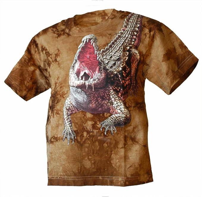 Bushfire T-Shirt Shoulder Croc Unisex - Erwachsene khaki batik: Amazon.de:  Bekleidung