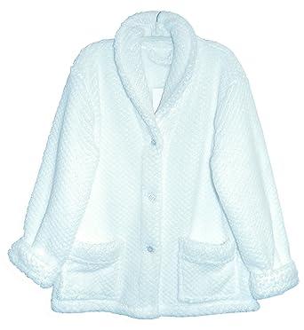 420952070da La Cera Women s Shawl Collar Bed Jacket Plus Size at Amazon Women s  Clothing store