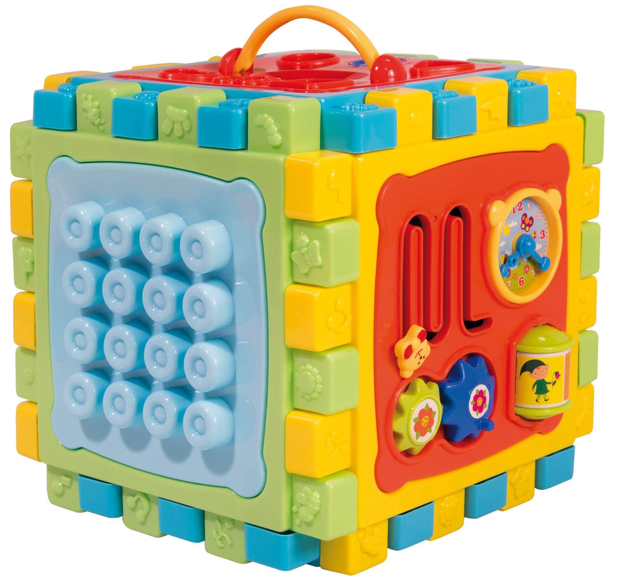 Lisciani Games carotina Baby Super Cube Thousand ATTIVITA-Multicoloured, 68357
