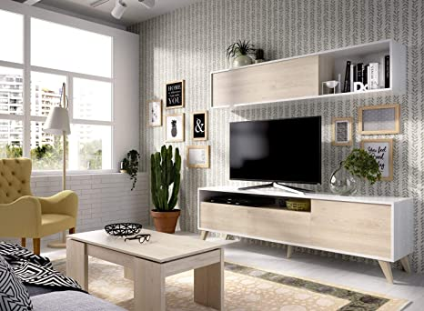LIQUIDATODO ® - Salón nordico 180 cm moderno y barato en ...