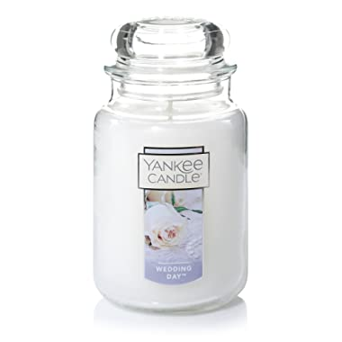 Yankee Candle Large Jar Candle, Wedding Day