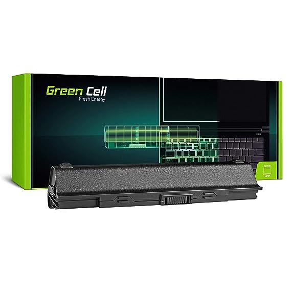 Green Cell® Extended Serie A32-UL20 Batería para Asus Eee PC 1201 1201HA 1201K 1201N 1201NL 1201PN 1201T UL20 UL20A Ordenador (9 Celdas 6600mAh 11.1V ...