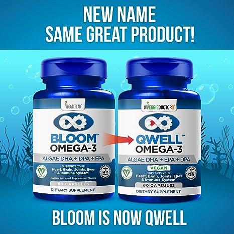 Vegan Omega 3 - Better Than Fish Oil! Plant Based, Algae DHA EPA DPA  Supplement  Supports