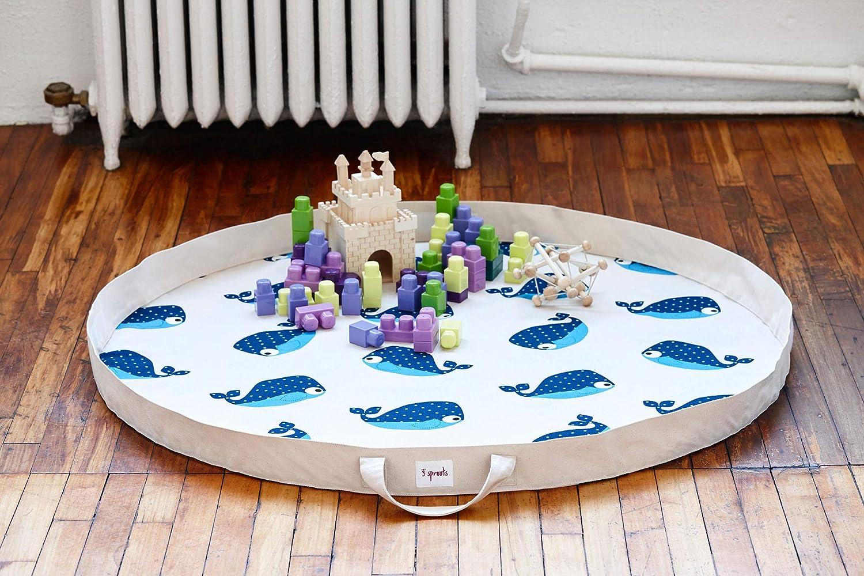 3 Sprouts gioco Matte/sacco - riccio Balena