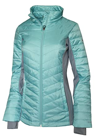 8b2dffe6bf4f Columbia Women s Morning Light Hybrid Omni Heat Jacket at Amazon ...