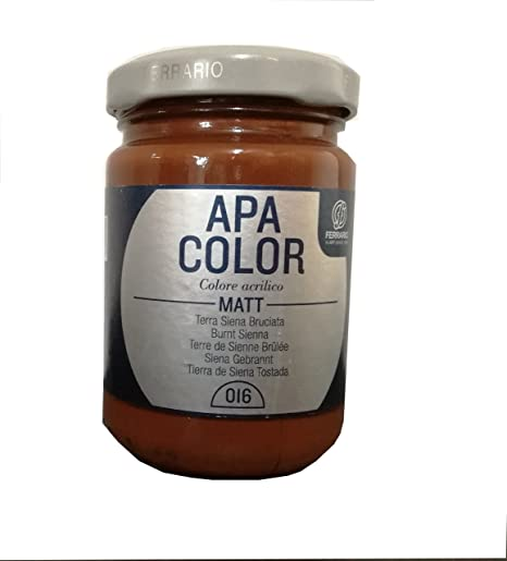 16 APA COLOR FERRARIO T.SIENA BRUC 150 ML: Amazon.es: Hogar