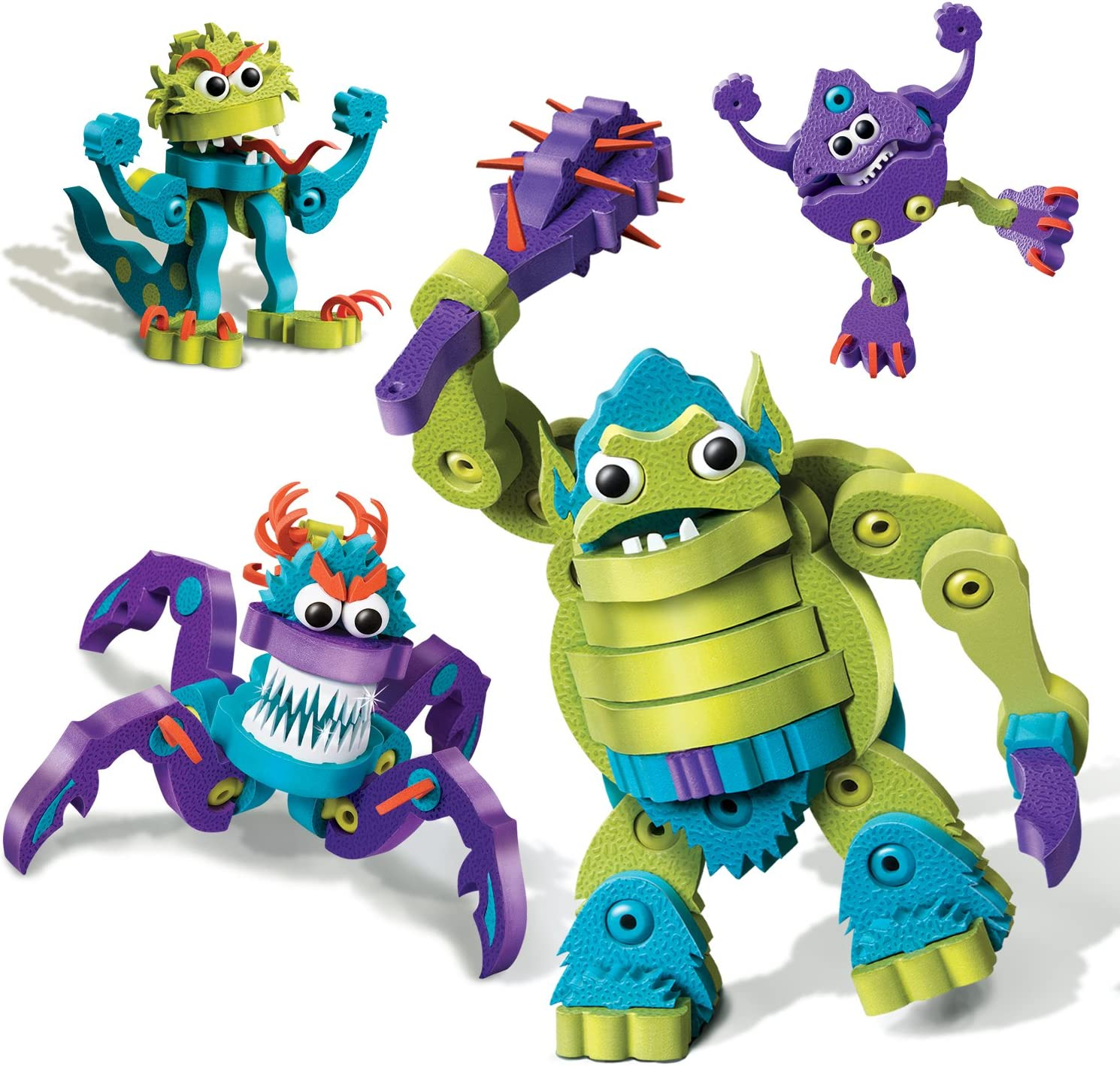 Bloco Toys Ogre and Monsters Building Kit by Bloco Toys inc.