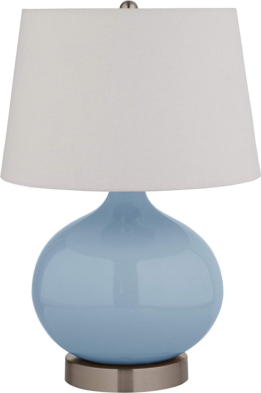 Stone Beam Ceramic Bedside Table Lamp