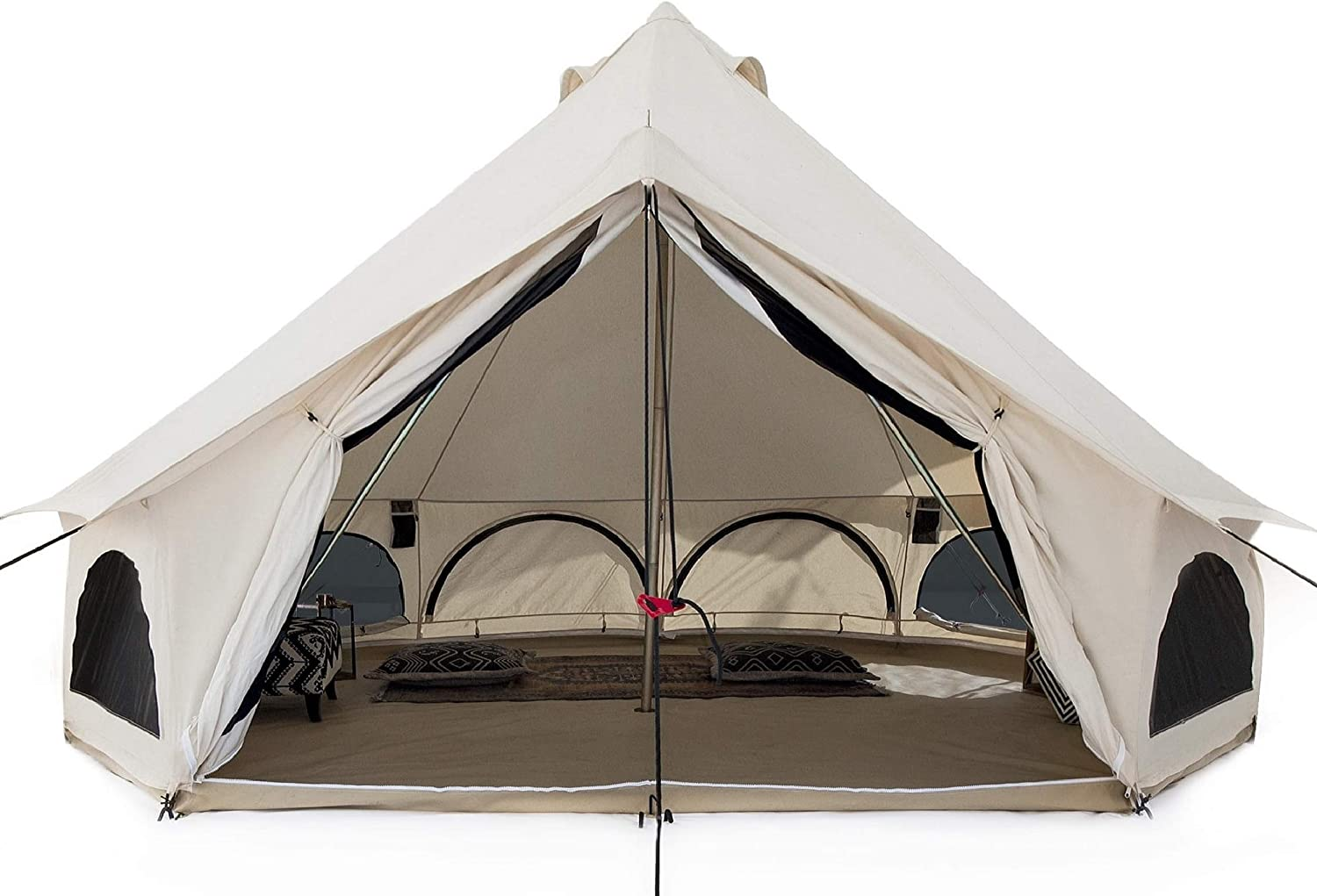 WHITEDUCK Avalon Canvas Tent With Stove Jack- All-Weather Tent